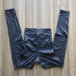 Pants - High waisted grey workout leggings